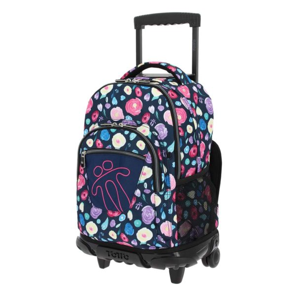 Totto backpack with wheels - Renglones