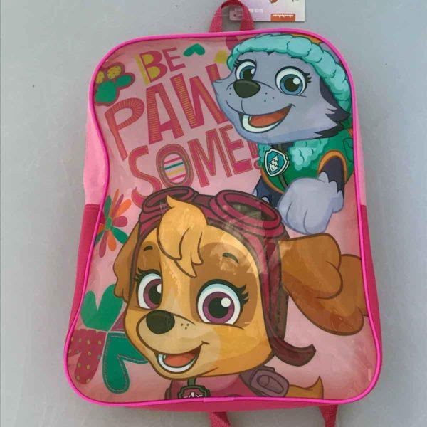 Paw Patrol Pink School Backpack