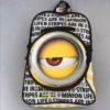 Minions Eye School Backpack