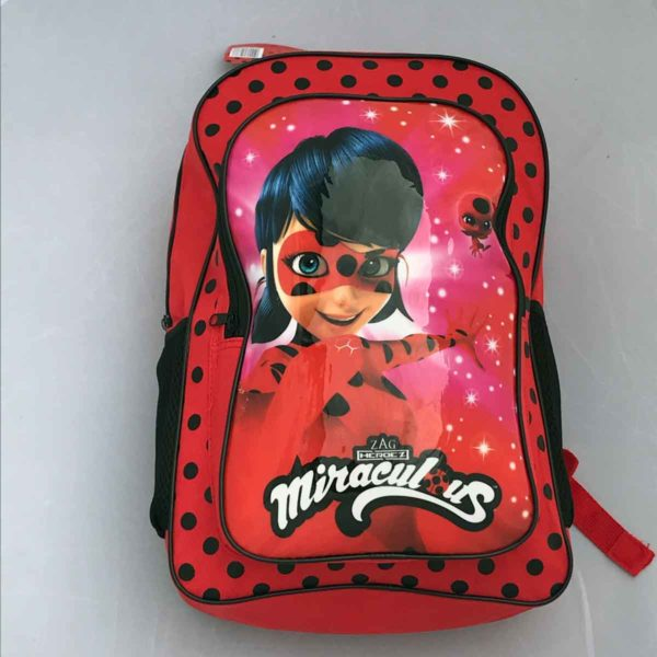 Miraculous 2 Section School Backpack