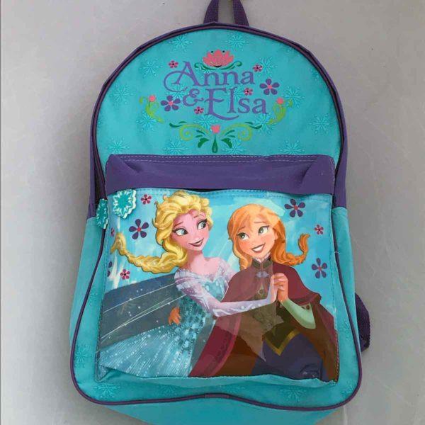 Frozen Anna & Elsa School Backpack