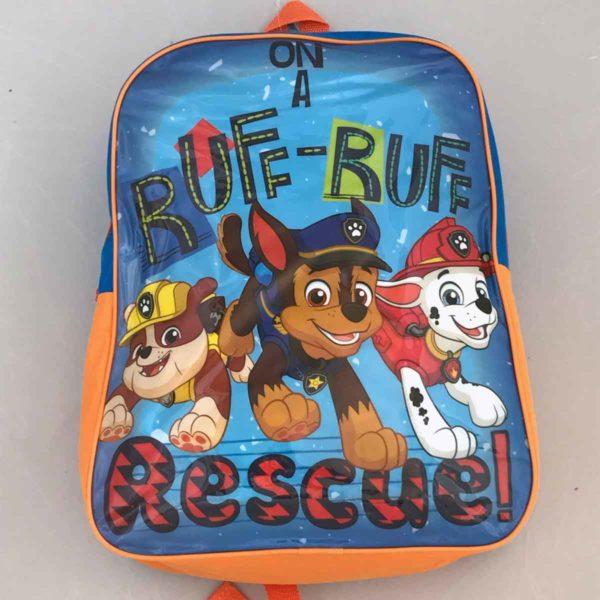Paw Patrol - Ruff Ruff rescue Kids Backpack