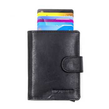 figuretta card protector wallet black