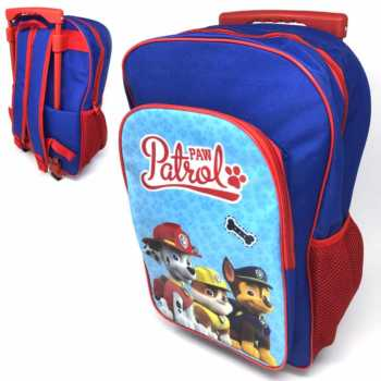 Paw Patrol Blue Trolley Backpack